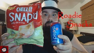 Roadie Snacks: #89. Cheez-it Snap'd Jalapeno Jack and Berry Pepsi