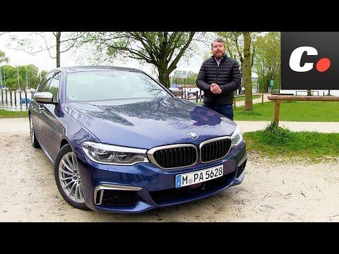 BMW M550i xDrive (Serie 5) | Primera prueba / Test / Review en español | Contacto | Coches.net