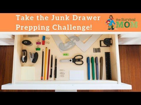 Take the Junk Drawer Prepping Challenge!