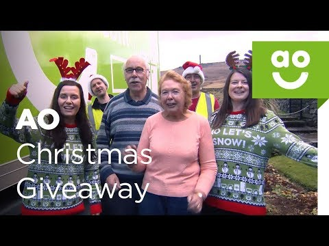 AO Christmas Cracker Giveaway | ao.com