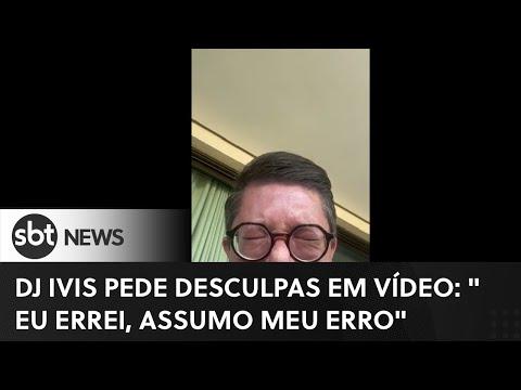 """""""Errei, assumo meu erro"""", diz DJ em vídeo após agredir ex-mulher"""