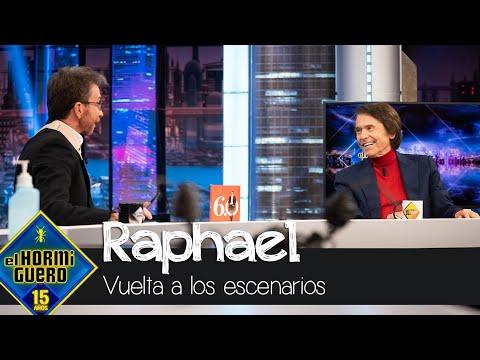Raphael «prende la mecha» y vuelve a los escenarios con un mensaje muy claro – El Hormiguero