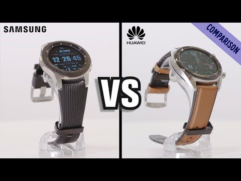 TEST: Samsung Galaxy Watch vs. Huawei Watch GT