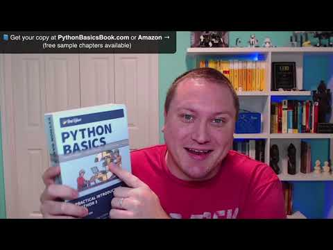Python Basics: Paperback Copies Now Available