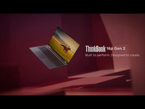 Lenovo ThinkBook 16p Gen 2 Product Tour