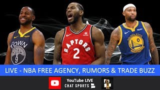 NBA Free Agency: Kawhi Leonard Watch, Andre Iguodala Trade, Rumors, Signings, News & Lakers