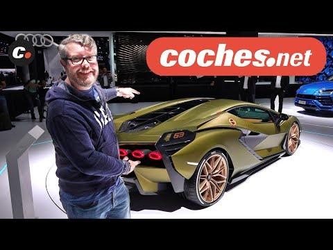 Lamborghini Sián   Salón de Frankfurt IAA 2019 en español   coches.net