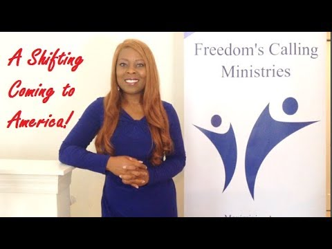 Prophetic Word: A Shifting Coming to America