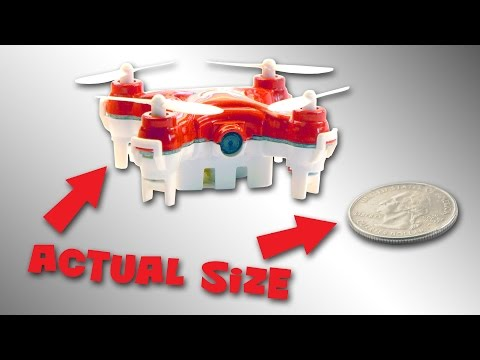 Is This the World's Smallest Camera Drone? - UC7he88s5y9vM3VlRriggs7A