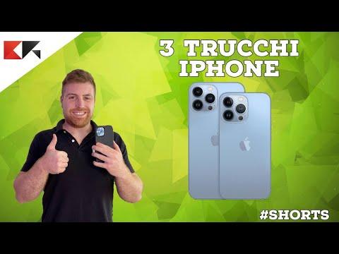 3 TRUCCHI per iPhone da conoscere