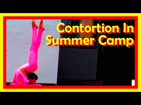 Contortion Outdoors In Summer Camp