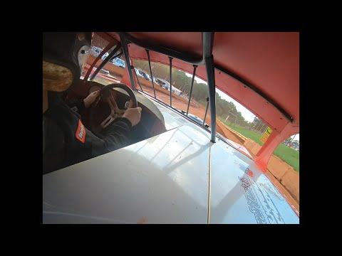 Aaron Criswell In car Modified Street at Winder Barrow Speedway July 10th 2021 - dirt track racing video image
