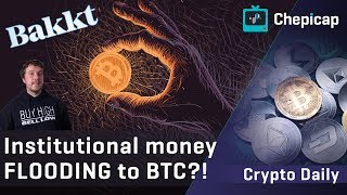 """EVERY institutional investor will hold BITCOIN""! Cryptocurrency news 