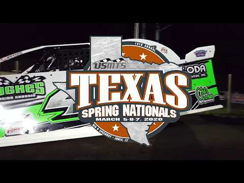 💥 10th Annual USMTS Texas Spring Nationals 💥 📆 Thursday-Saturday, March 5-7, 2020 ðŸ�� BIG O Speedway in Ennis, Texas  Summit USMTS National Championship fueled by Casey's  Wednesday: 🔧 Test 'n' Tune  Œšï¸� Gates Open 4:00 · Practice 6:00-9:00 🔖 Pit Passes $20  Thursday: 💵 USMTS Modifieds $2,000 to win 💵 USRA Factory Stocks $400 to win 💵 USRA Limited Mods $500 to win  Friday: 💵 USMTS Modifieds $3,000 to win 💵 USRA Factory Stocks $500 to win 💵 USRA Limited Mods $500 to win  Saturday: 💵 USMTS Modifieds $4,000 to win 💵 USRA Factory Stocks $400 to win 💵 USRA Limited Mods $500 to win + USRA Tuners and Mod-Lites  T - dirt track racing video image