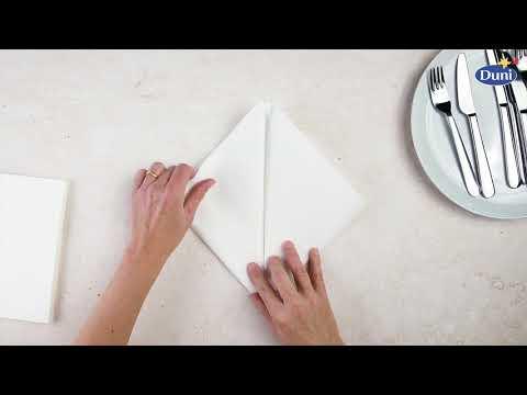 Napkin Folding Pocket