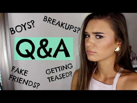 Getting Over Boys & Dealing With Fake Friends | #AskShani - UCPG6A5tNaPfv2SRNW2beq5Q