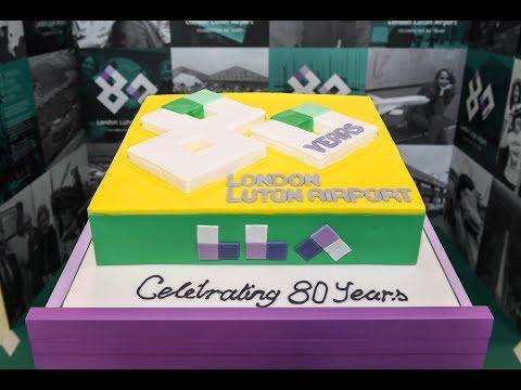 London Luton Airport's 80th birthday celebrations