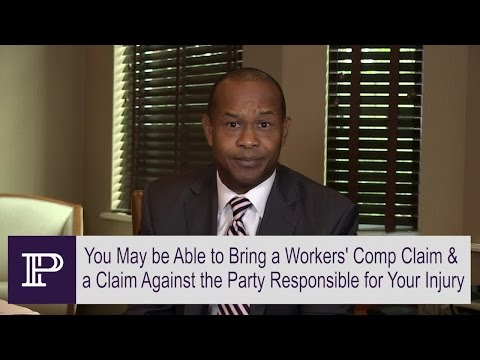 You May Have Another Injury Claim Besides Workers' Compensation – FL Attorney Paul Perkins explains