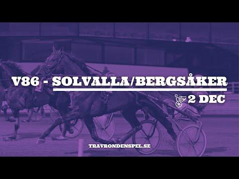 V86 tips Solvalla/Bergsåker   2 december 2020