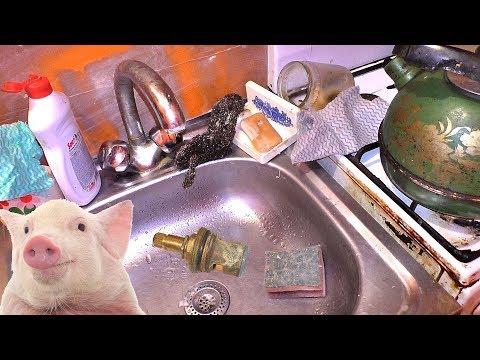 Ремонт смесителя за копейки. Кухня как свинарник! photo