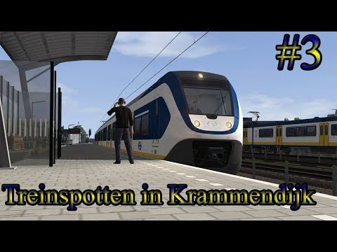 Virtueel Treinspotten op Krammendijk  Train Simulator 2017 Livestream 3