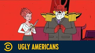 Sympathy For The Devil  | Ugly Americans | Episode 9 |Staffel 1|Comedy Central Deutschland