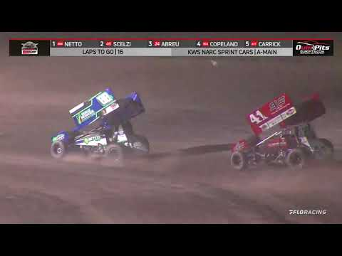 NARC KING OF THE WEST @ STOCKTON DIRT TRACK - AUGUST 28, 2021 - dirt track racing video image