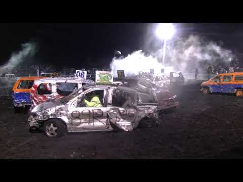 BIKE BARN MINIVAN DEMOLITION DERBY 2018