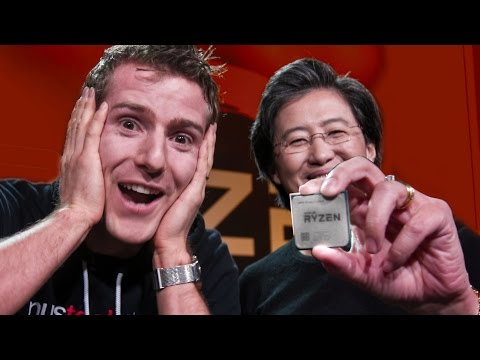 AMD RYZEN 7 OFFICIAL LAUN ...