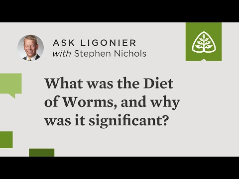 What was the Diet of Worms, and why was it significant?