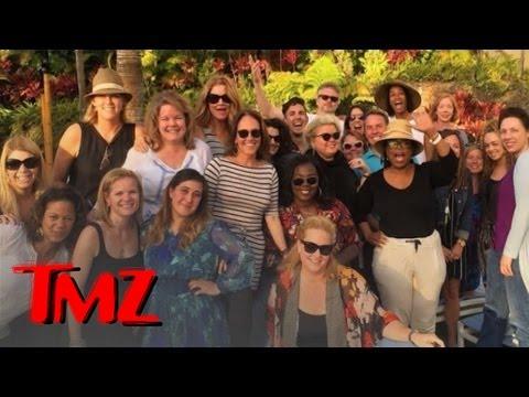 Oprah Winfrey Takes Team OWN To Hawaii