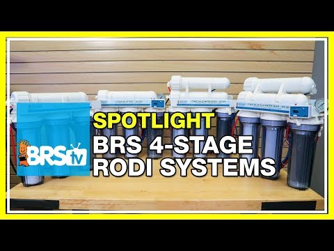 Ultra pure water for your reef with the BRS 4-Stage RODI systems | BRStv Spotlight