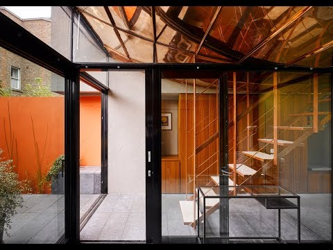 "ArchitectsTM cuts through home in Dublin with a copper-clad ""light scoop"""