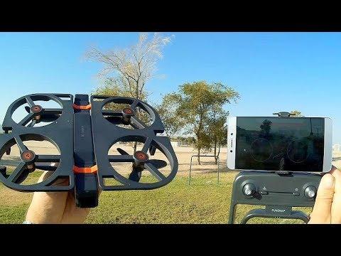 Xiaomi Funsnap Youpin IDOL Brushless GPS Folding Selfie Drone Flight Test Review