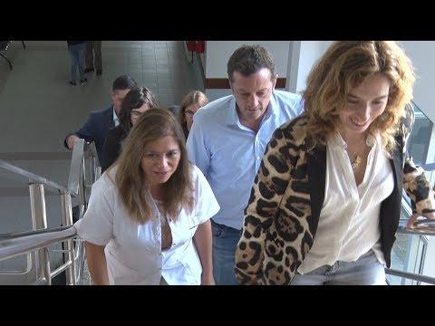 Rocío García visitó el Hospital Zonal Caleta Olivia