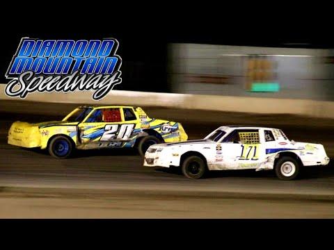 Diamond Mountain Speedway IMCA Hobby Stock Main Event 8/21/21 - dirt track racing video image