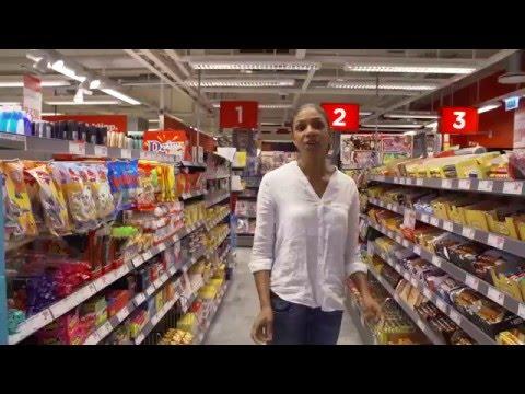 Den energikloka livsmedelsbutiken  - kylning av varor med tips och råd för butiken.