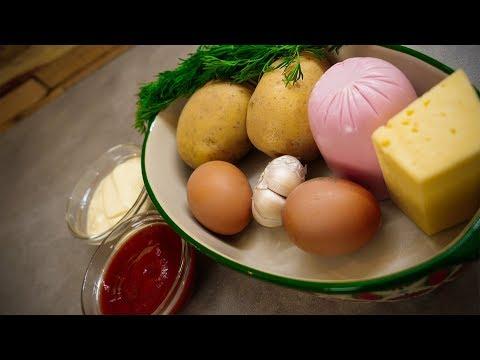 Картофельная запеканка из общаги! Годно, вкусно и недорого! photo