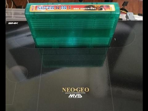 Multijuegos 120 en 1 Neo Geo MVS