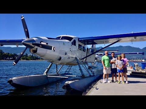 Amazing Seaplane Flight Around Vancouver!