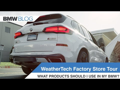 WeatherTech Factory Store - A Closer Look At Products For BMW Cars