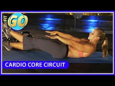 Cardio Core Circuit Workout: BeFiT GO- 10 Mins