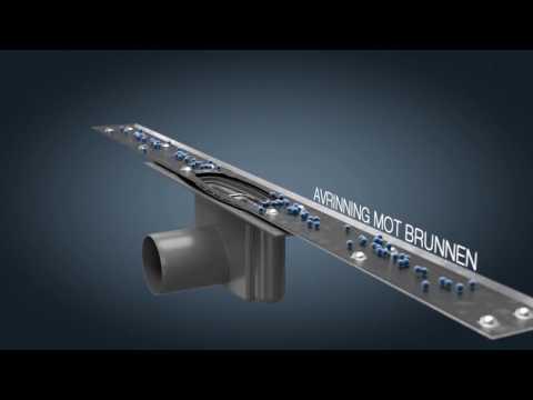 Installationsvideo för Purus Line Premium Tile Insert