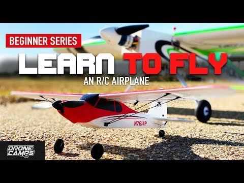 LEARN TO FLY an RC AIRPLANE  - UCwojJxGQ0SNeVV09mKlnonA