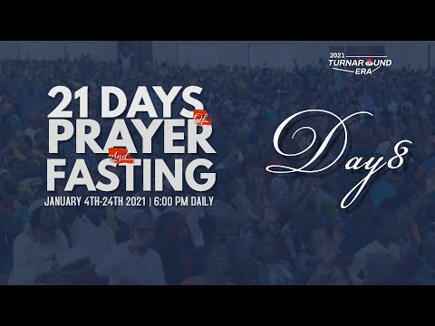 DOMI STREAM : DAY 8  ANNUAL PRAYER & FASTING  11, JANUARY 2021  FAITH TABERNACLE OTA