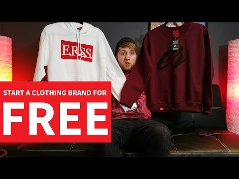 Starting A Clothing Brand For FREE!