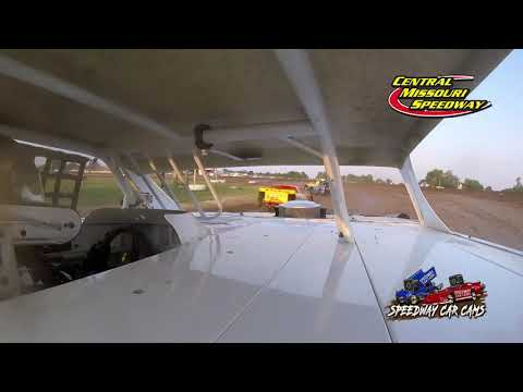 #G1 Nitro Nick Gibson - Super Stock - 7-4-2021 Central Missouri Speedway - In Car Camera - dirt track racing video image
