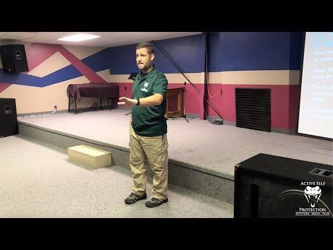 Teaching A Church Safety Class In Kansas (Part 3)