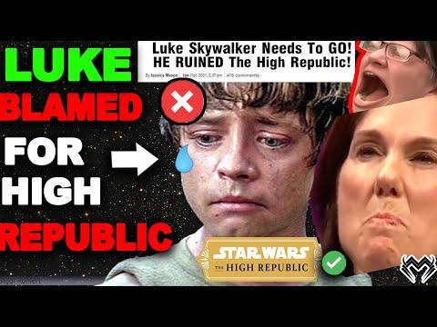 Luke Skywalker BLAMED For LOW Star Wars High Republic Sales! Disney in PANIC MODE!