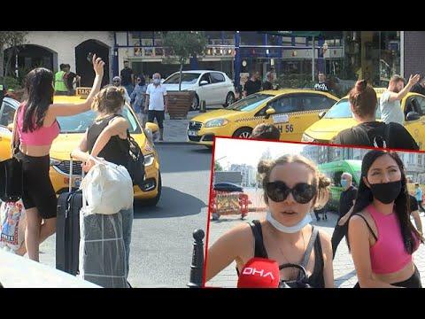 Taksim'de Kısa Mesafe Almayan Ve Müşteri Seçen Taksicilere Ceza Yağdı